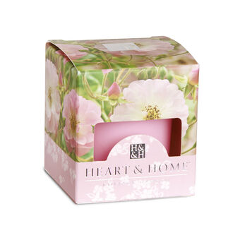 Heart & Home Votive Candle Rambling Rose 57g, , large