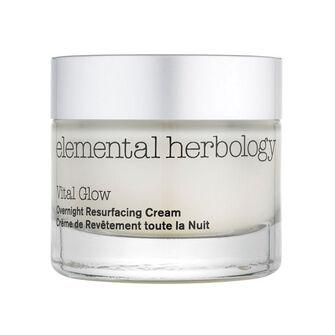 elemental herbology Vital Glow Overnight Resurfacing Cream, , large