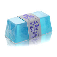 The Bluebeards Revenge Big Blue Bar Of Soap For Blokes 175g, , large