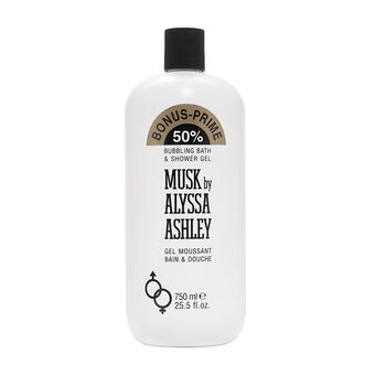 Alyssa Ashley Musk Bath & Shower Gel 750ml, , large