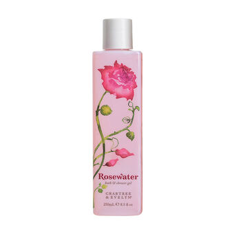 Crabtree & Evelyn Rosewater Shower Gel 250ml, , large