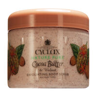 Cyclax Cocoa Butter & Walnut Body Scrub 300ml, , large