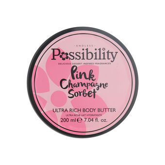 Possibility Pink Champagne Sorbet Body Butter 200ml, , large