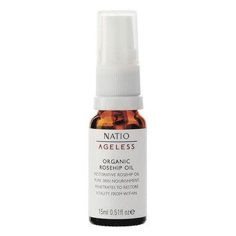Natio Ageless Organic Rosehip Oil 15ml, , large