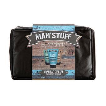 Technic Man'stuff Wash Bag Gift Set, , large