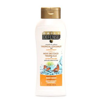 Daily Defense Body Wash Tropical Coconut 443ml, , large