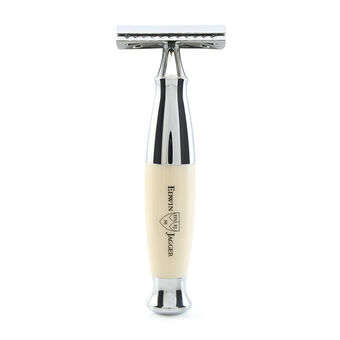 Edwin Jagger Ivory And Chrome DE Saftey Razor, , large