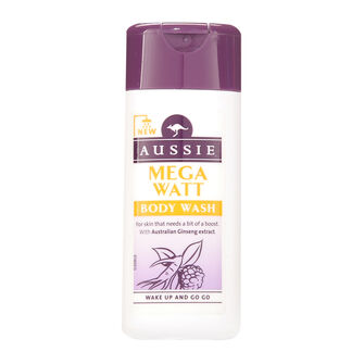Aussie Mini Mega Watt Body Wash 75ml, , large