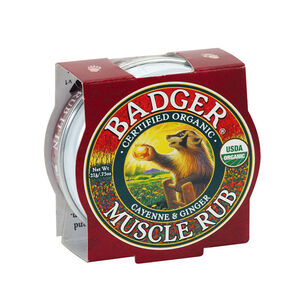 Badger Balm Mini Foot Balm for Hard Walking Feet 21g, , large
