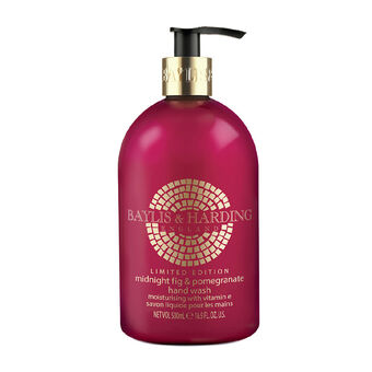 Baylis & Harding Midnight Fig & Pomegranate Hand Wash 500ml, , large