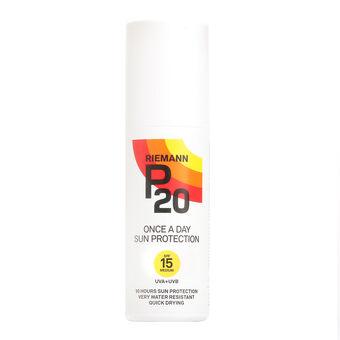 Riemann P20 Once A Day Sun Protection Spray SPF15 100ml, , large