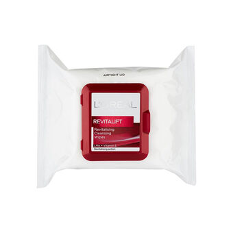L'Oreal Revitalift Revitalising  Cleansing Wipes 25s, , large