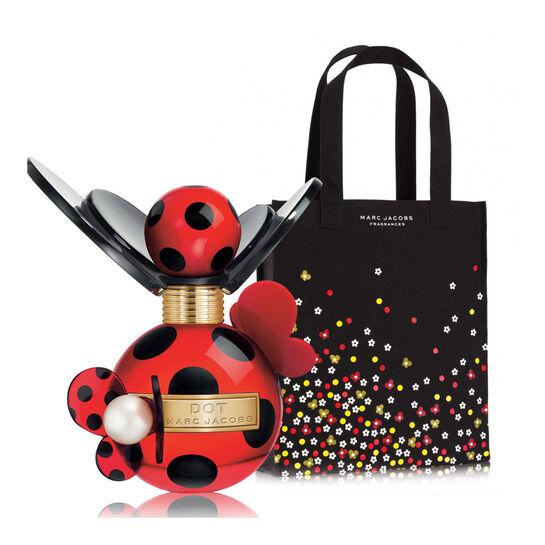 Marc Jacobs Dot Eau de Parfum Spray 50ml With Free Gift, , large