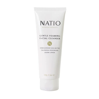 Natio Gentle Foaming Facial Cleanser 100g, , large