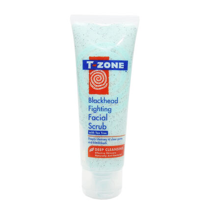 T Zone Blackhead Fighting Facial Scrub 75ml, , large