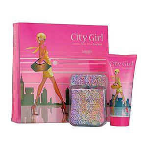 Laurelle Parfums City Girl New York Gift Set 100ml, , large