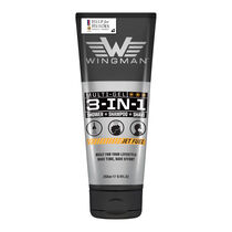 Wingman 3 in 1 Shower Shampoo Shave Jet Fuel 250ml, , large