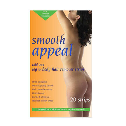 Smooth Appeal Leg and Body Hair Remover Strips 20, , large