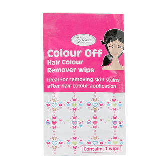 Grace Your Face Colour Off Hair Colour Remover Wipe, , large