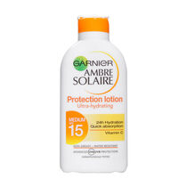 Garnier Ambre Solaire UltraHydrating Protection Lotion SPF15, , large
