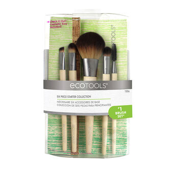 EcoTools Bamboo 6 Piece Brush Set, , large