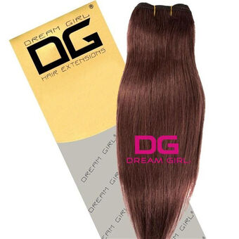 DREAM GIRL Euro Weave Hair Extensions 18 Inch 7, , large