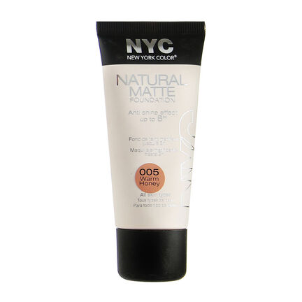 NYC Natural Matte Foundation 30ml, , large