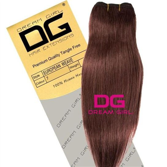DREAM GIRL Euro Weave Hair Extensions 20 Inch 7, , large