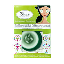 Grace Your Face Cool Cucumber Eye Pads, , large