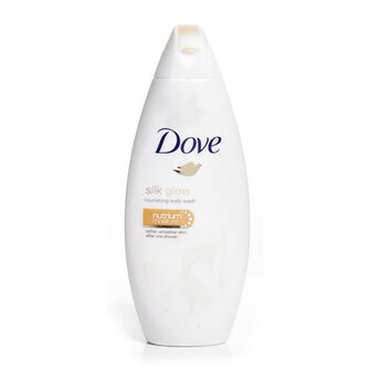 Dove Silk Glow Body Wash 500ml, , large