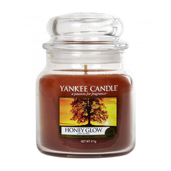 Yankee Candle Medium Jar Honey Glow, , large