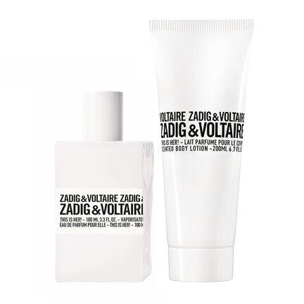 Zadig & Voltaire This is Her! Eau De Parfum 100ml + FG, , large