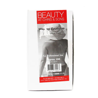 Beauty Waxing Spatulars x 100, , large
