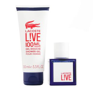Lacoste Lacoste Live Male Eau De Toilette & Shower Gel Gift, , large
