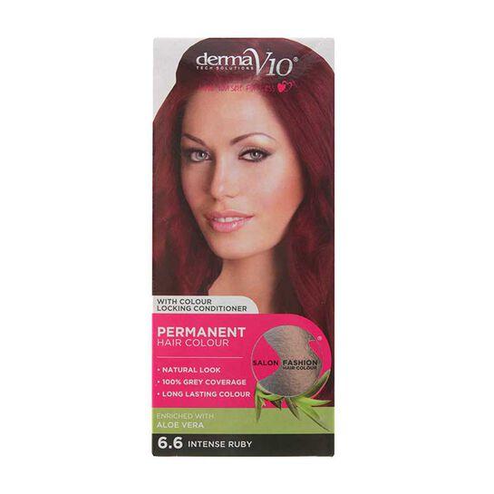 DermaV10 Salon Fashion Permanent Hair Colour, , large