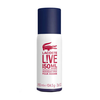 Lacoste Live Male Deodorant Spray 150ml, , large