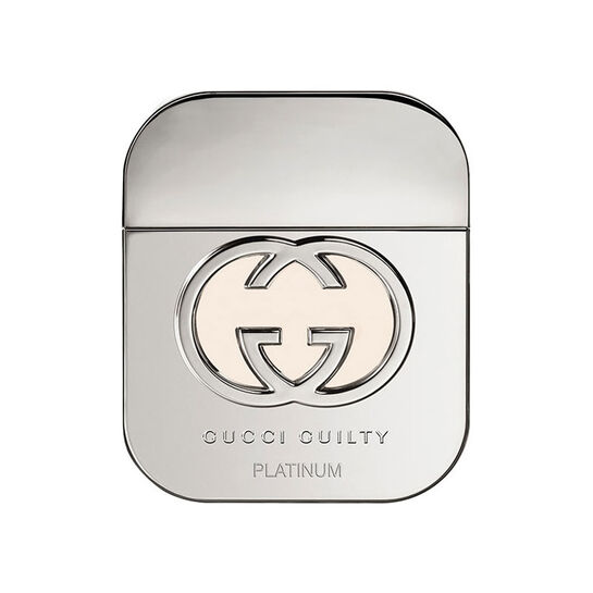 Gucci Guilty Platinum Eau De Toilette Spray 50ml + Free Gift, , large