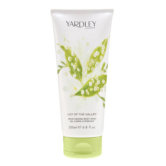 Yardley Lily of the Valley Luxury Body Wash 200ml, , large