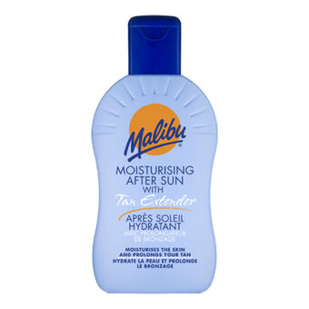 Malibu After Sun Gel With Tan Extender 200ml, , large