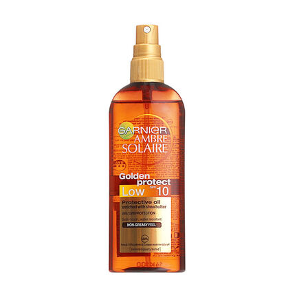 Garnier Ambre Solaire Golden Protect Oil Spray SPF10 150ml, , large