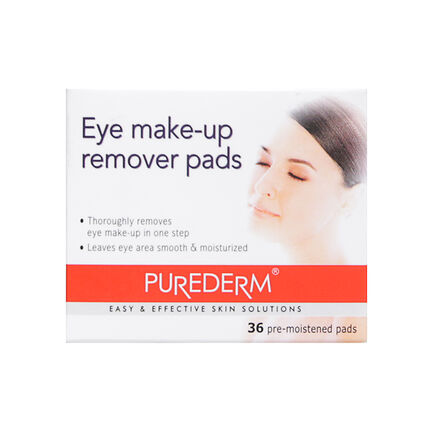 Purederm Eye Make Up Remover 36 Pads, , large
