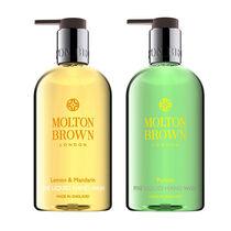 Molton Brown Lemon & Mandarin + Puritas Duo Liquid Hand Wash, , large