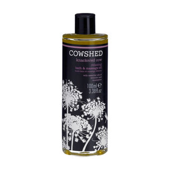 Cowshed Knackered Cow Relaxing Bath & Body Oil 100ml, , large