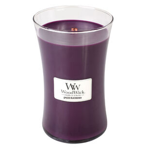 WoodWick Spiced Blackberry Large Candle, , large