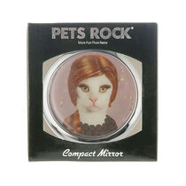 Creative Colours Pets Rock Compact Mirror Songbird, , large