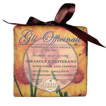 Nesti Dante Gli Officinali Sunflower & Saffron Soap 200g, , large