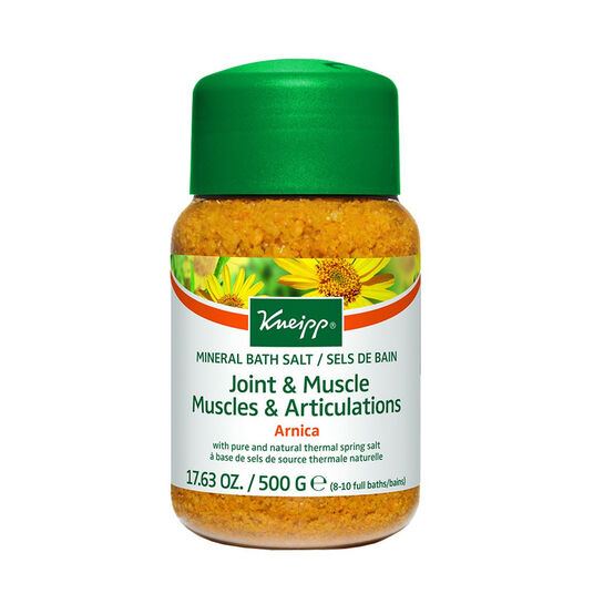 Kneipp Joint & Muscle Bath Salt Arnica 500g, , large
