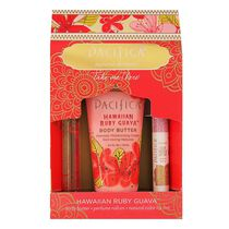 Pacifica Take Me There Hawaiian Ruby Guava Gift Set, , large