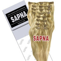 SAPNA Euro Weave Hair Extensions 20 Inch P10/613, , large