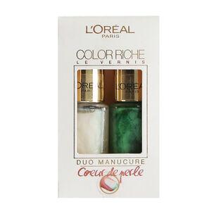 L'Oréal Colour Riche Manicure Duo 2 x 5ml, , large